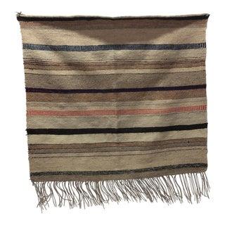 "Swedish Hand Woven Wool Rug - 2'10"" x 2'11"""