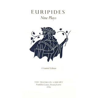 """1976 """"Euripides: Nine Plays"""" Collectible Book Preview"""