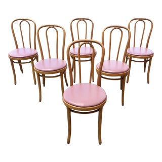 1950s Vintage Thornet Chairs - Set of 6 For Sale