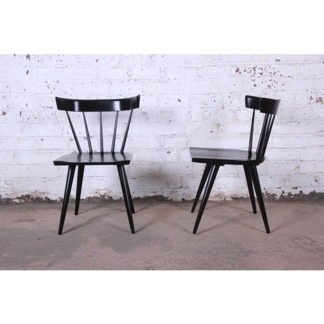 Paul McCobb Ebonized Planner Group Dining Chairs - Set of 10 For Sale - Image 13 of 13