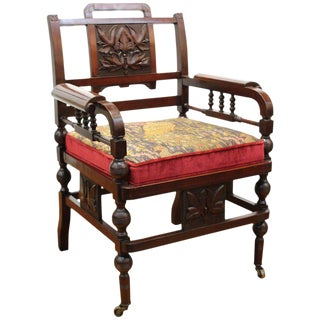 Late 19th Century Antique American Aesthetic Chair For Sale