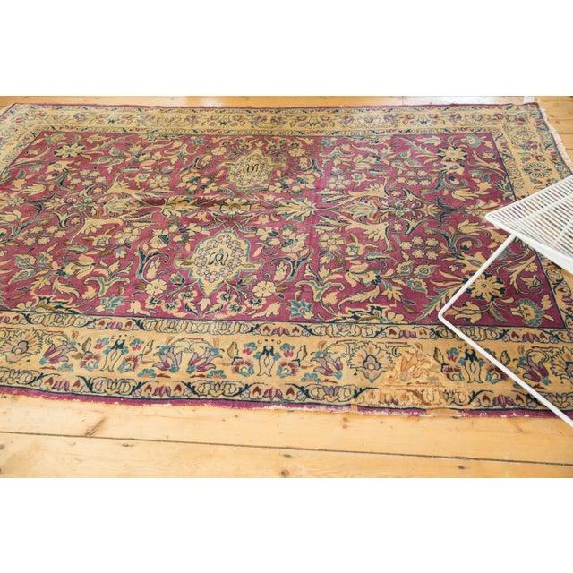 "Islamic Vintage Lilihan Carpet - 6'2"" X 9'6"" For Sale - Image 3 of 12"