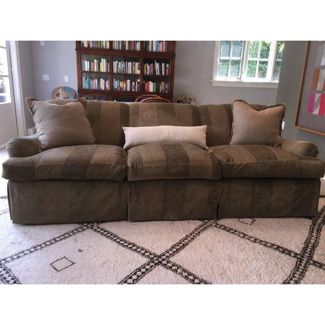 Custom George Smith Style Sofa - Image 3 of 4