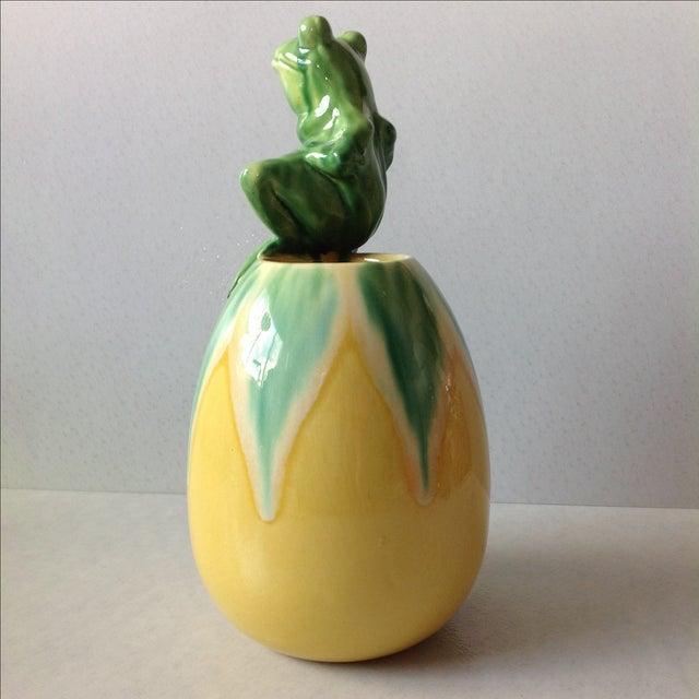 Royal Hickman Haeger Pottery Frog Vase Chairish