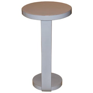 Contemporary Round Gray Cocktail Table Preview