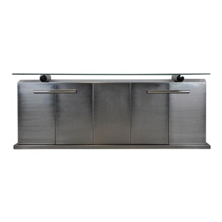 Stainless Steel Sideboard For Sale