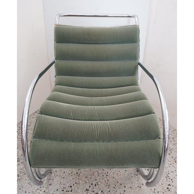 Art Deco Vintage Art Deco Mies Van Der Rohe Lounge Chair by Gordon International For Sale - Image 3 of 13