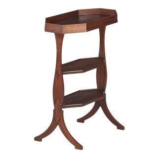 Early 20th Century French Walnut Seamstress Working Table For Sale