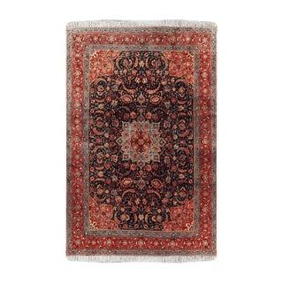 "1990s Sarouk Persian Wool Rug-9'4"" X 12'1"" For Sale"