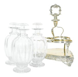 Image of English Carafes and Decanters