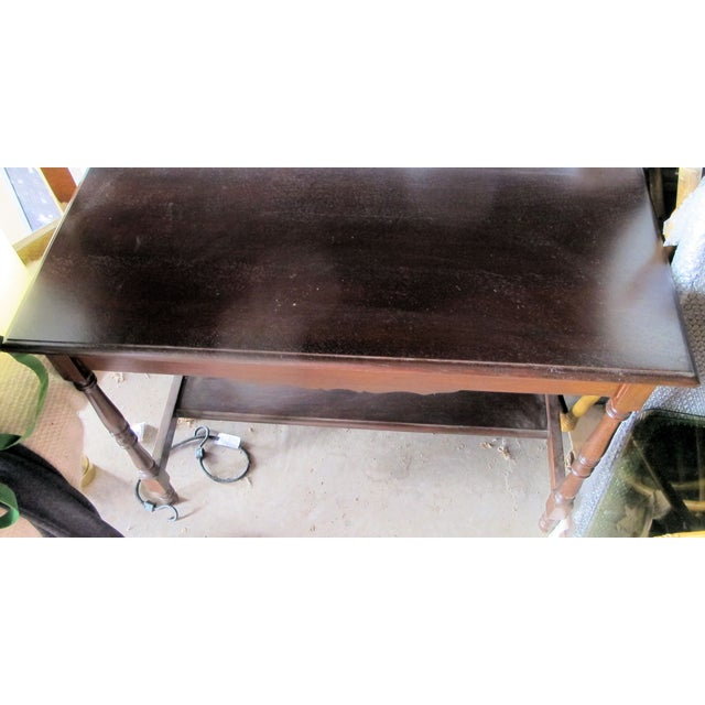 Antique Writing Desk - Image 8 of 8