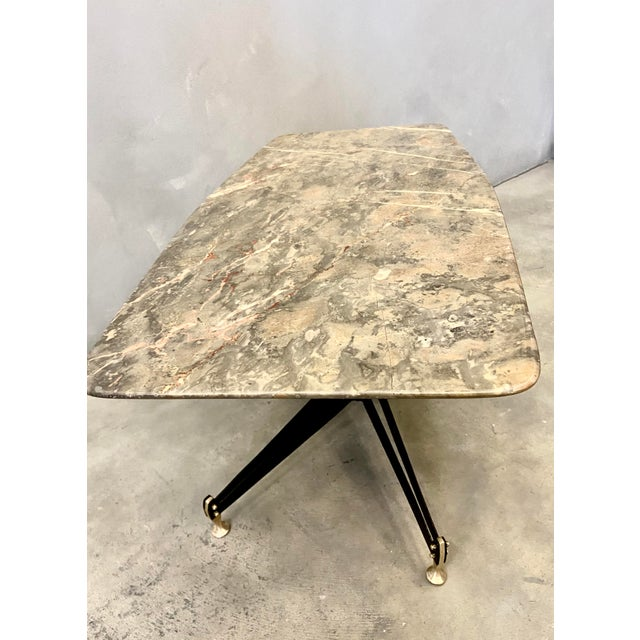 Metal Table by Sergio Mazza for Domus Competition, Italy For Sale - Image 7 of 9