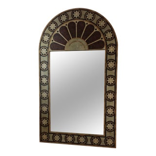 Maitland Smith Eggshell Inlaid Mirror