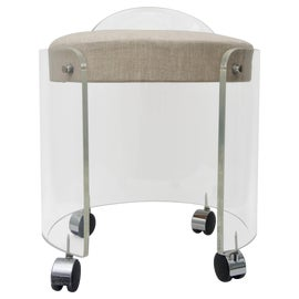 Image of Lucite Side Chairs