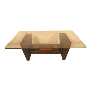 Industrial Style Coffee Table For Sale