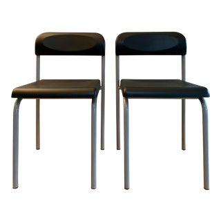 Post Modern Ettore Sottsass Design Greek Chair for Beiffeplast Italy- a Pair For Sale