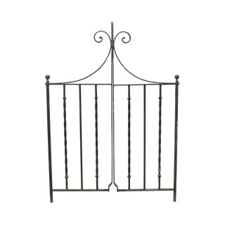 Cast Iron Double Yard Gates For Sale