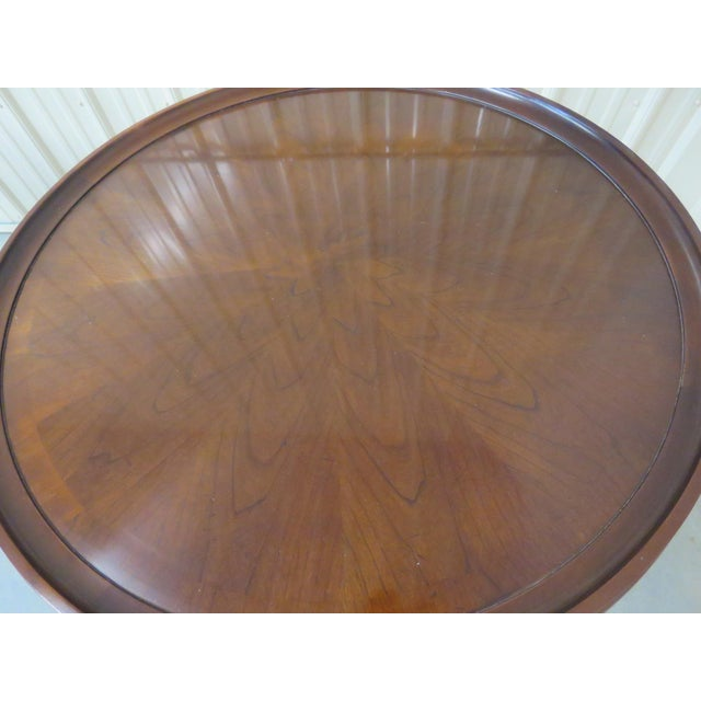 Baker Furniture Company Mid Century Baker Furniture Center Tables - a Pair For Sale - Image 4 of 7