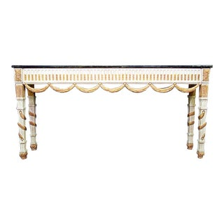 1960s French Style Console Table For Sale