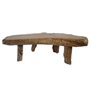 Organic Slab Coffee Table