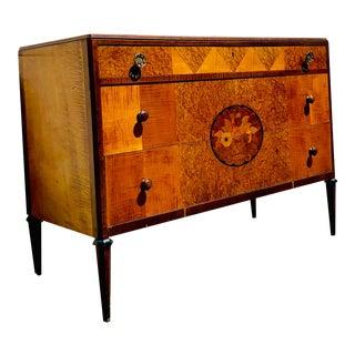 Antique Art Deco Vanity by John Widdicomb For Sale