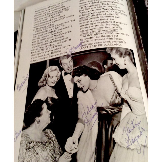 "1981 ""Hollywood Babylon"" by Kenneth Anger- Annotated/Special Edition For Sale In Nashville - Image 6 of 13"