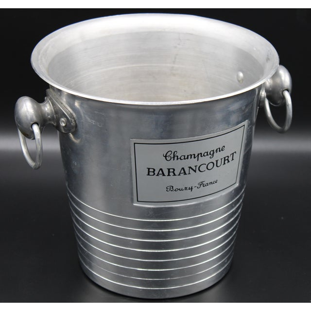 French Vintage French Barancourt Champagne Ice Bucket For Sale - Image 3 of 13