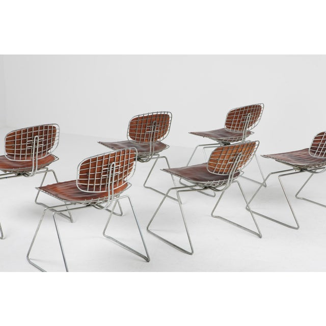 Centre Pompidou Beauburg Chairs Selected by Jean Prouvé For Sale - Image 6 of 12