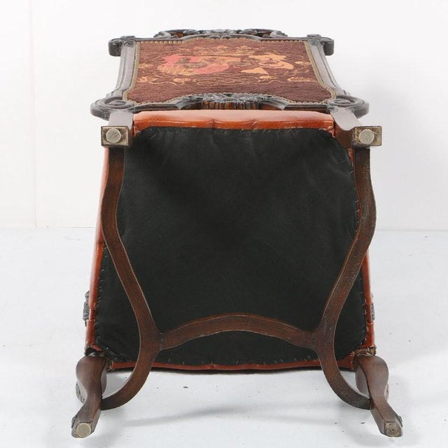 Late 20th Century Vintage Louis XIV Style Armchair For Sale - Image 10 of 11