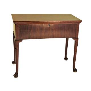 Circa 1780 George III Mahogany Harlequin Desk