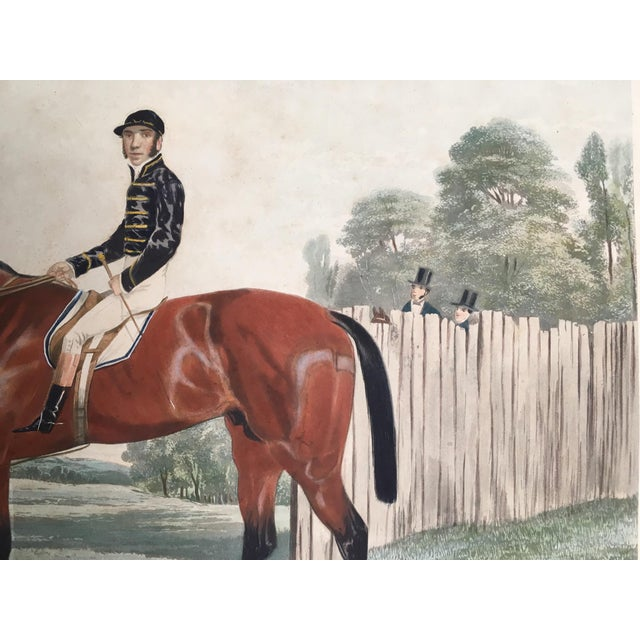 Mid 19th Century English Horse Racing Print, C1853 For Sale - Image 5 of 13
