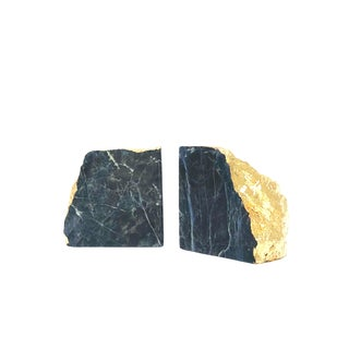 Sodalite Bookends - A Pair For Sale