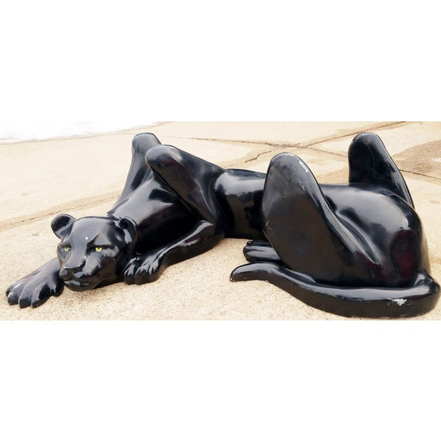 1970's Black Panther Coffee Table Base For Sale - Image 11 of 13