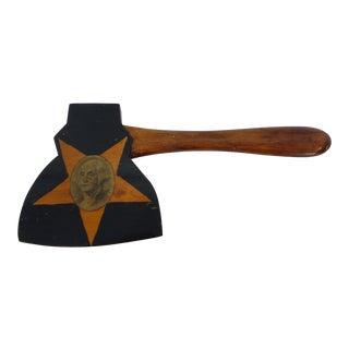 George Washington Wood Toy Hatchet