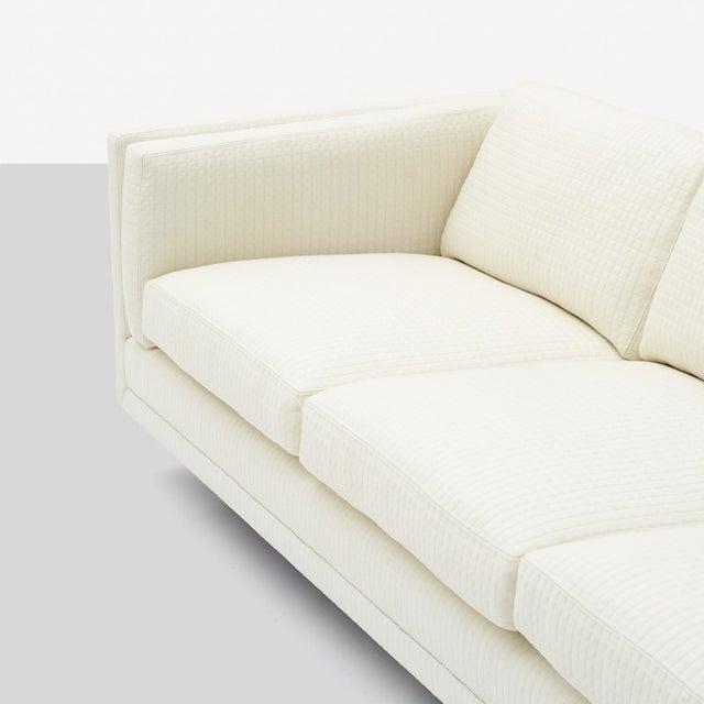 Mid-Century Modern Harvey Probber Tuxedo Style Sofa For Sale - Image 3 of 6