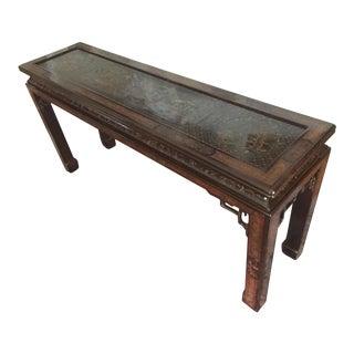 1970s Chinoiserie Mario Buatta for John Widdicomb Console Table For Sale