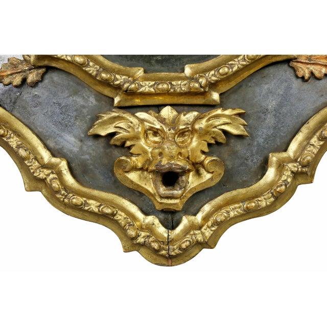 Glass Venetian Giltwood Girondole Mirror For Sale - Image 7 of 10