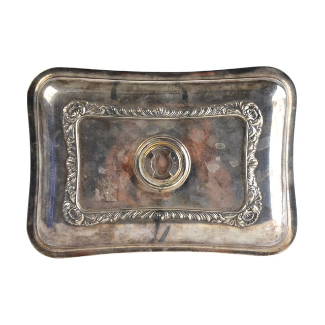 Vintage Petite Silver Tray - Image 4 of 5