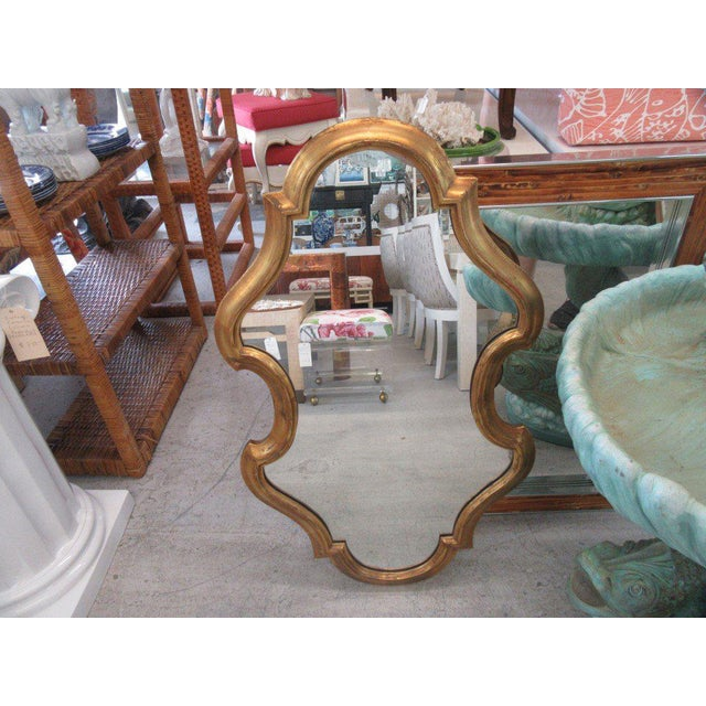 Free Form Hollywood Regency Mirror - Image 2 of 5