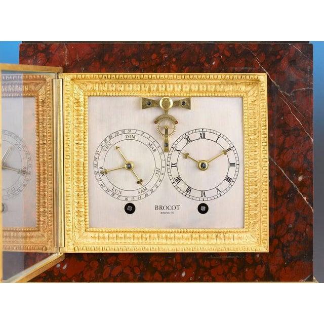 Napoleon III Sculptural Mantel Clock For Sale - Image 4 of 6
