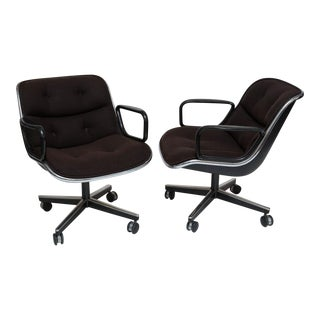Charle Pollack for Knoll Executive Chairs