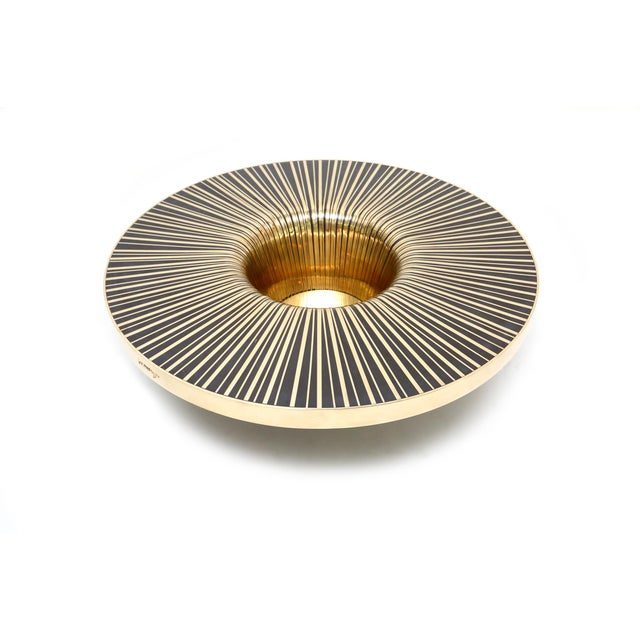 Gold The Vortex Cocktail Table by Yann Dessauvages For Sale - Image 8 of 8