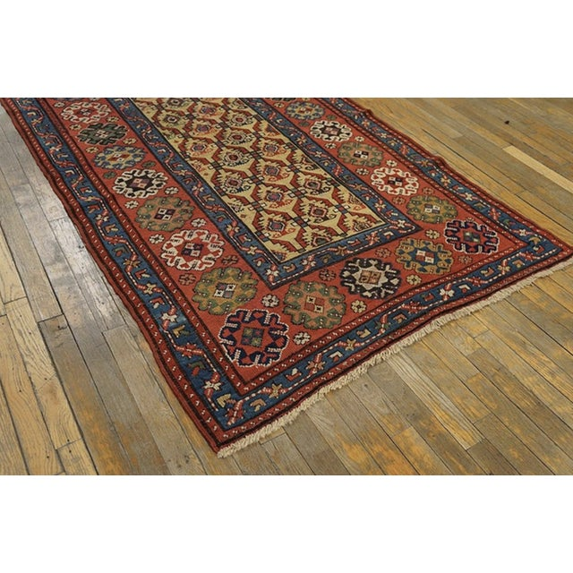 Late 19th Century Antique Persian Rug For Sale - Image 4 of 7