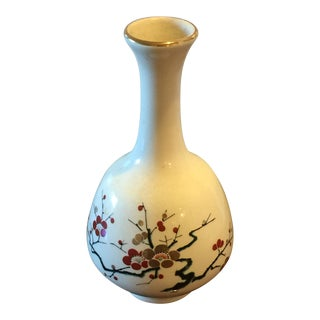 Vintage Chinese Ceramic Small Perfume Bottle For Sale