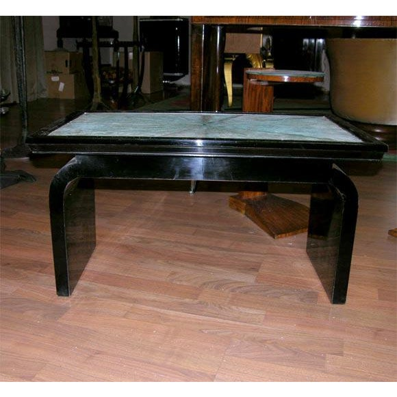 French Art Deco Shagreen Occasional Table For Sale In New York - Image 6 of 6
