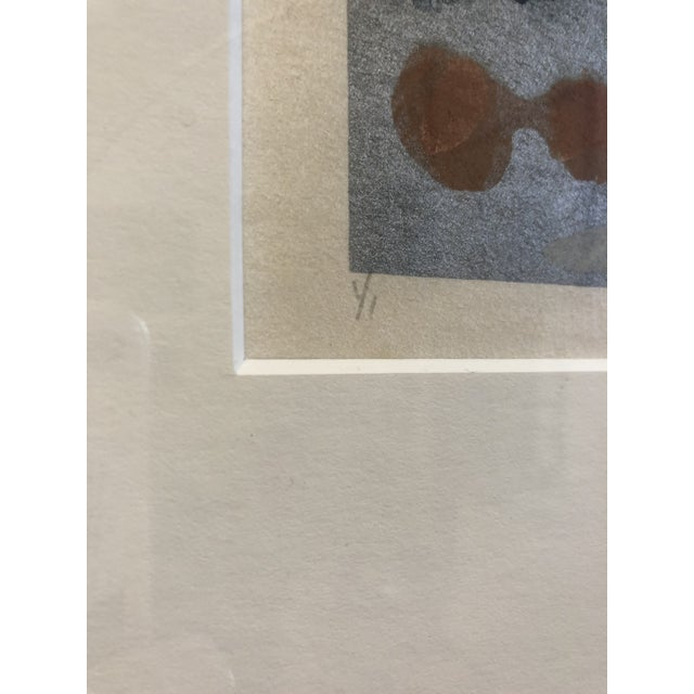 Drawing/Sketching Materials Syd Kramer Monotype Abstract Prints - a Pair For Sale - Image 7 of 11