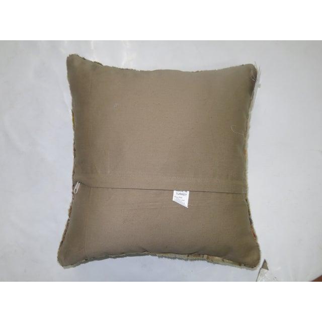 Vintage Turkish Anatolian Rug Pillow - Image 3 of 3