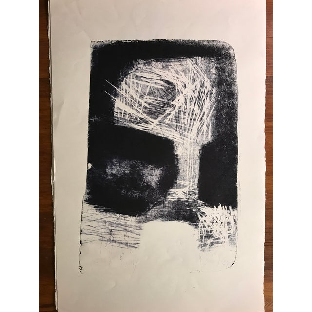"""Jerry Opper 1940-1950's Stone Lithograph on Paper 12.5"""" x 19"""", Unframed Came from a portfolio of his work from his estate...."""