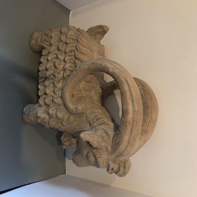 Austin Productions Austin Ram Pottery Sculpture For Sale - Image 4 of 7