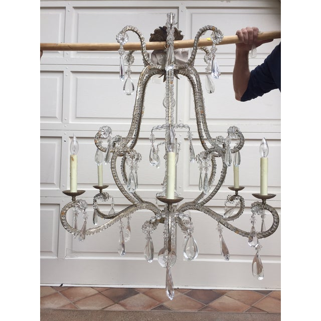 "Traditional Dennis & Leen ""Chateau"" Chandelier For Sale - Image 3 of 5"